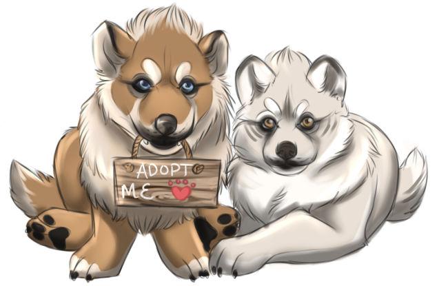 Adoption Center Puppies by TotemSpirit