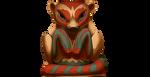 Minktotemtopper By Lightningspam-dcvzoba by TotemSpirit