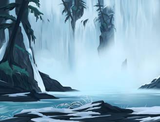 Spirit Falls by TotemSpirit