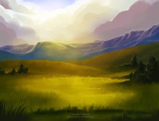 Tartok Foothills by TotemSpirit