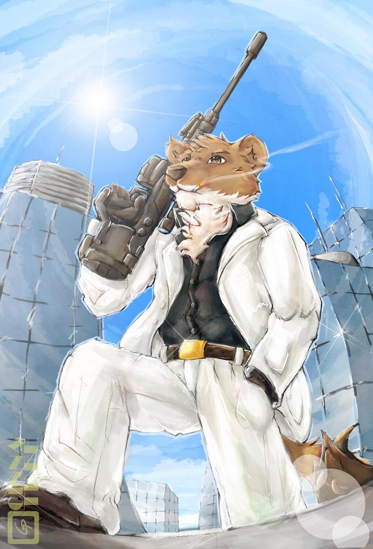 The Weasel Hitman by Cinna-Tree