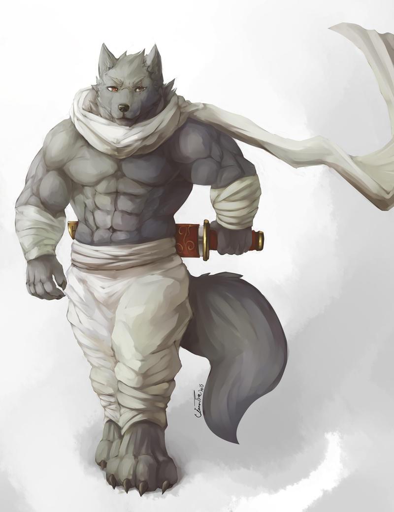 Wolven Ninja by Cinna-Tree