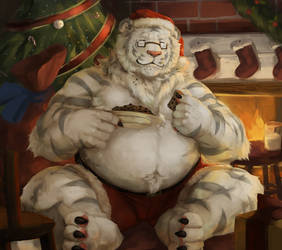 Christmas Cookie Tiger