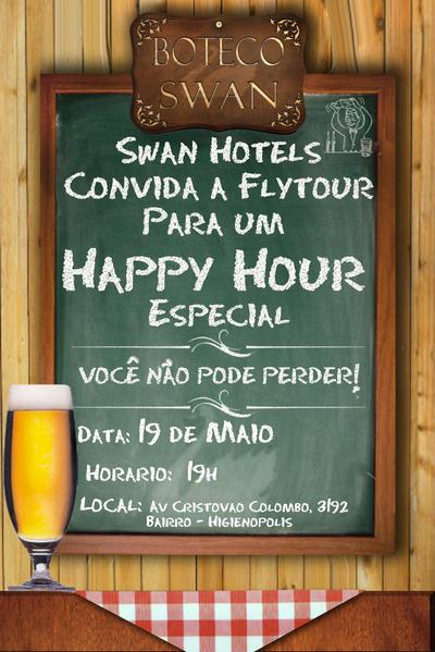 Convite Boteco Swan by kero69