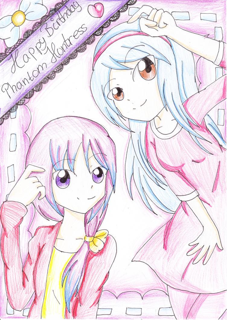 Happy Birthday, PhantomHuntress by TokiHoshiwa