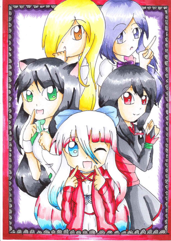 My dear Sisters by TokiHoshiwa