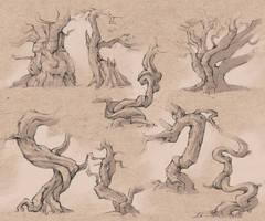 Tree study by LaszloEde