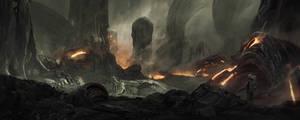 Alien planet exploration 3