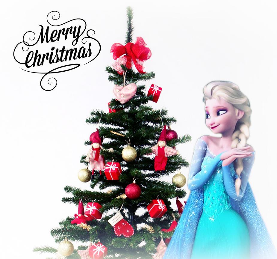 Christmas Tree Ideas For Frozen : Elsa s christmas tree by frozenxfairytale on deviantart