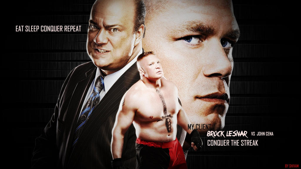 Brock Lesnar Eat Sleep Conquer Repeat Wallpaper By ShivamMathers