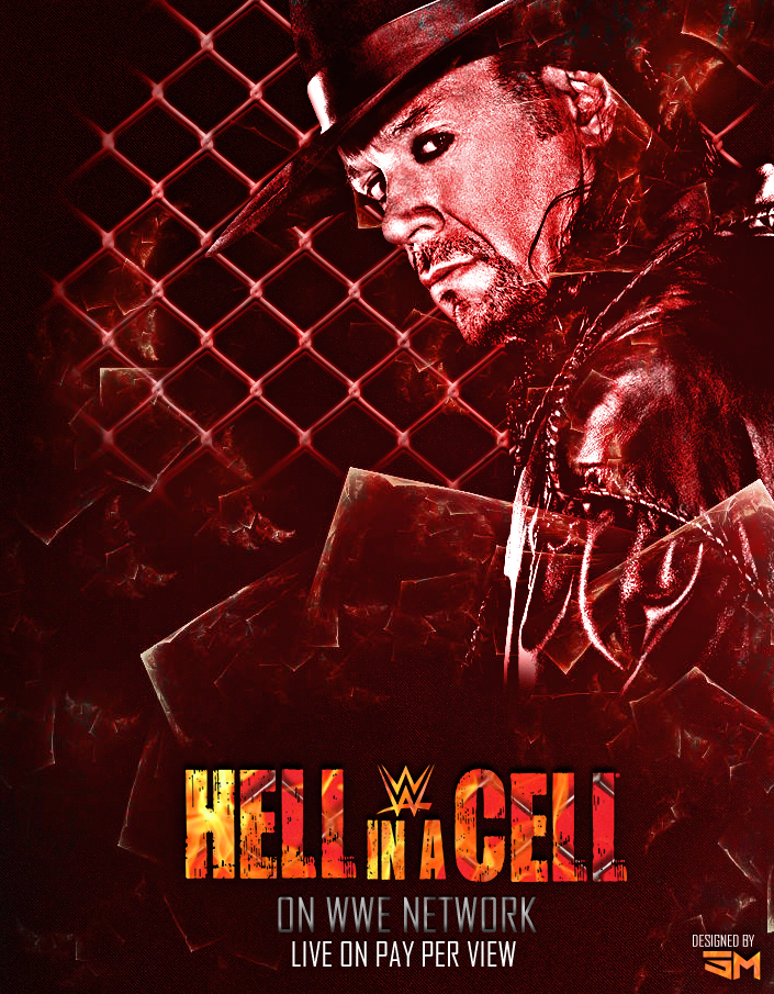 Hell in a Cell 2015 Custom Poster by ShivamMathers