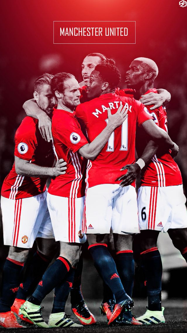 manchester united iphone wallpaper by shivammathers on deviantart manchester united iphone wallpaper by