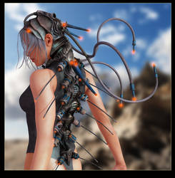 Bio Tech weapon by RetroDevil