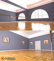 The Dance Studio by RetroDevil