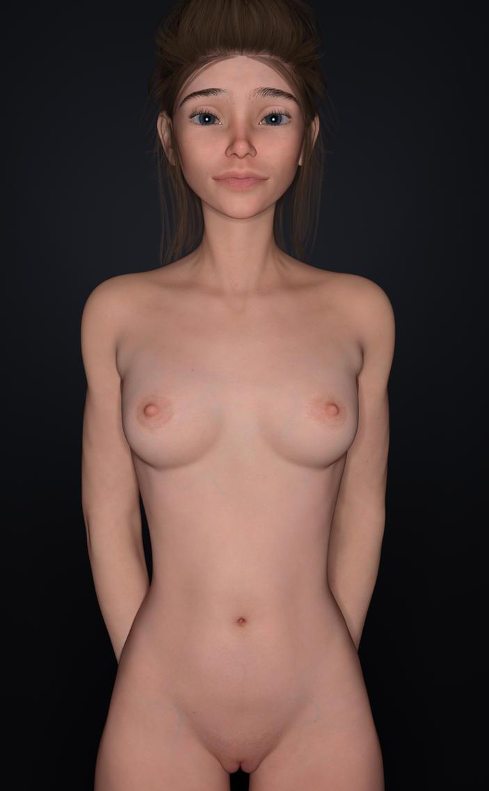 Eren Nude by RetroDevil