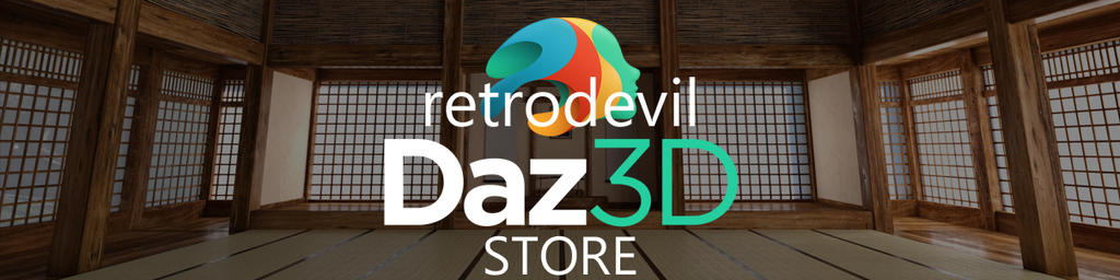 Daz3D Store Banner by RetroDevil