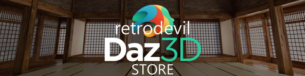 Daz3D Store Banner