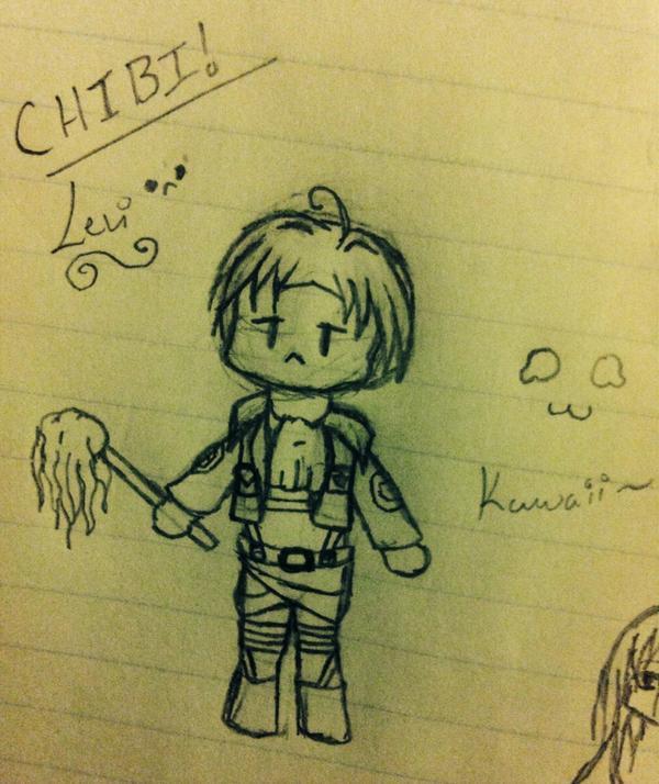 Chibi Levi! by UpAllNightToGet-Loki