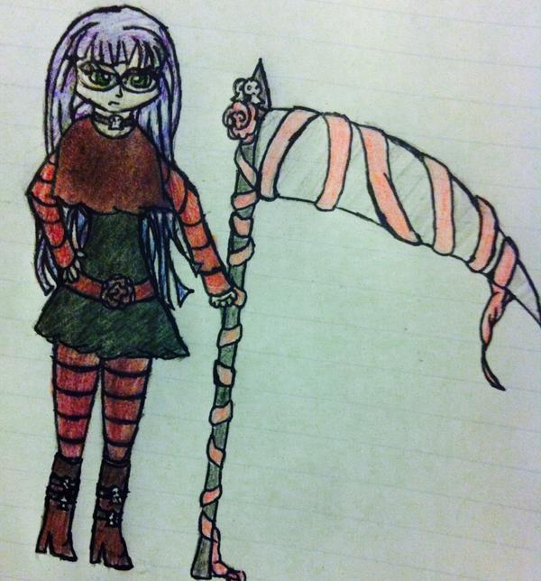 Sara the Reaper by UpAllNightToGet-Loki