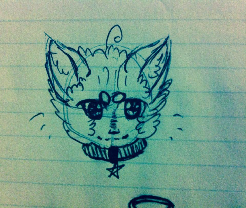 Cat by UpAllNightToGet-Loki