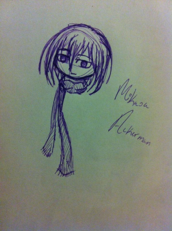 Mikasa by UpAllNightToGet-Loki
