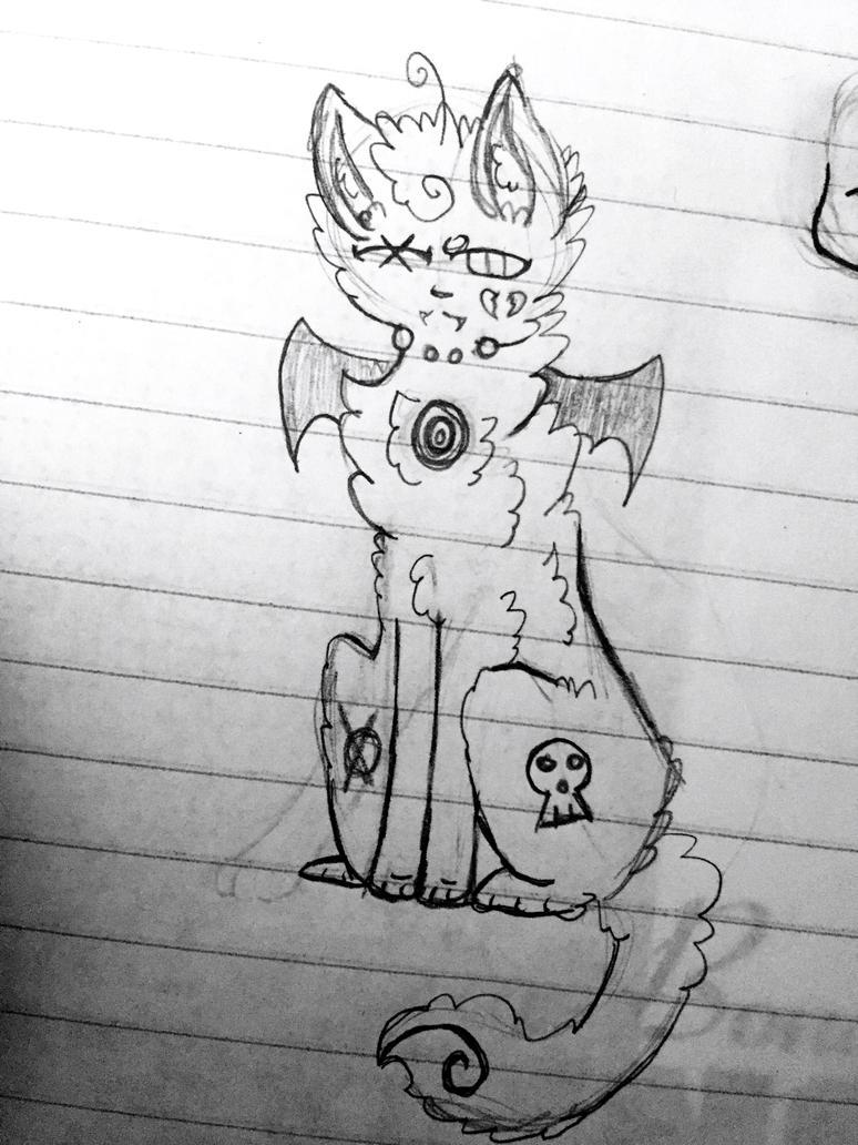 Some Doodle by UpAllNightToGet-Loki