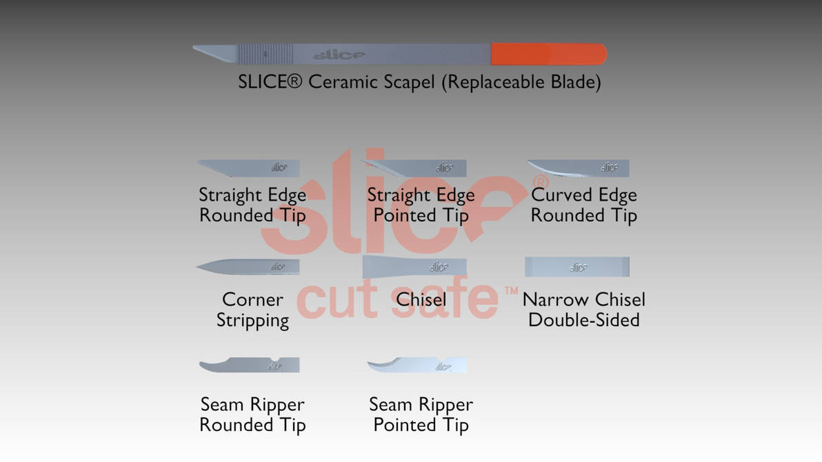 SLICE Ceramic Scapel (Replaceable Blade) (Alt IMG) by JetstreamX14