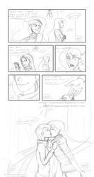 Mistletoe Comic (sketch) by Ruepelwelpe