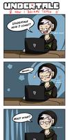 Undertale Comic - Trash Can by Ruepelwelpe