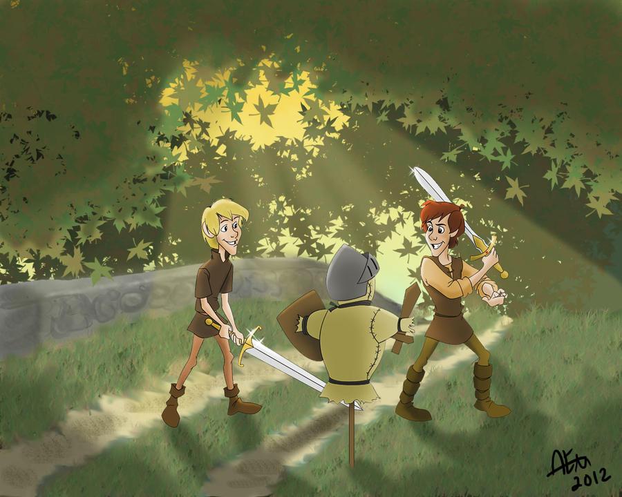 Sword Training by Nookleuh92