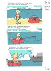Jeff goes fishing