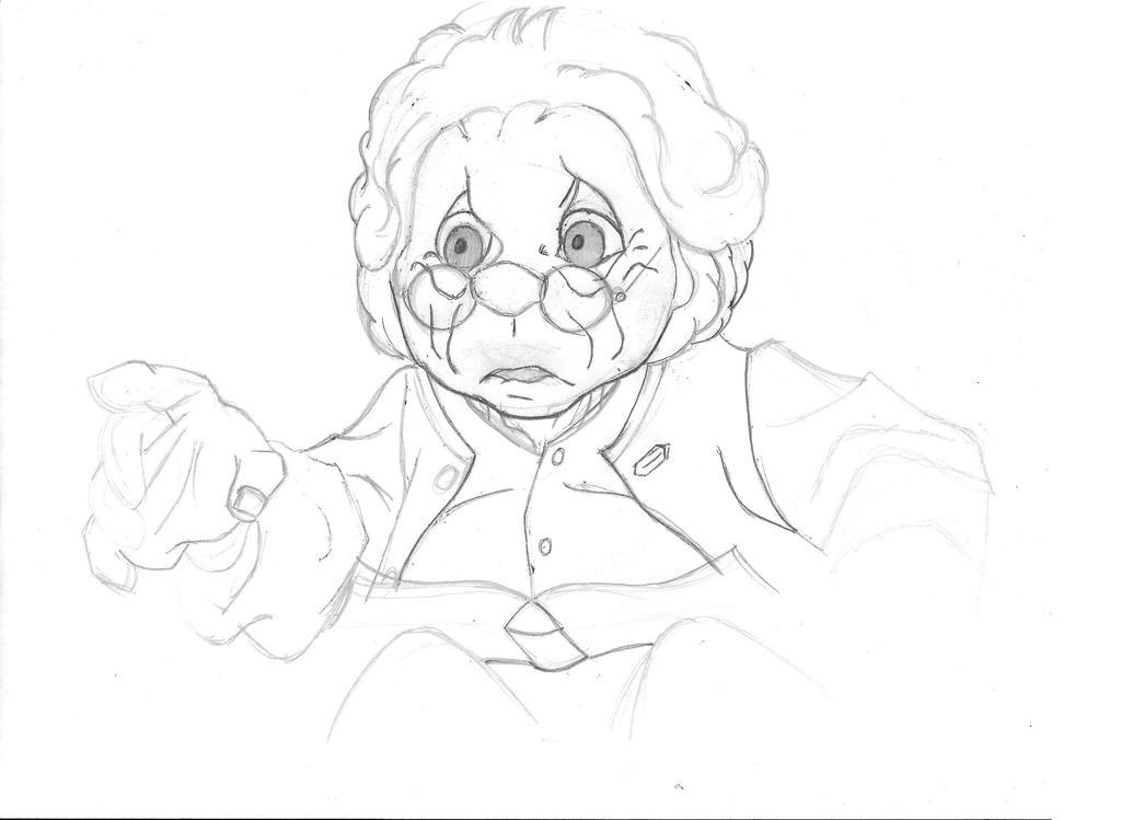 RANKIN BASS_Bilbo_Orson Bean tribute 2 WIP by BecDeCorbin