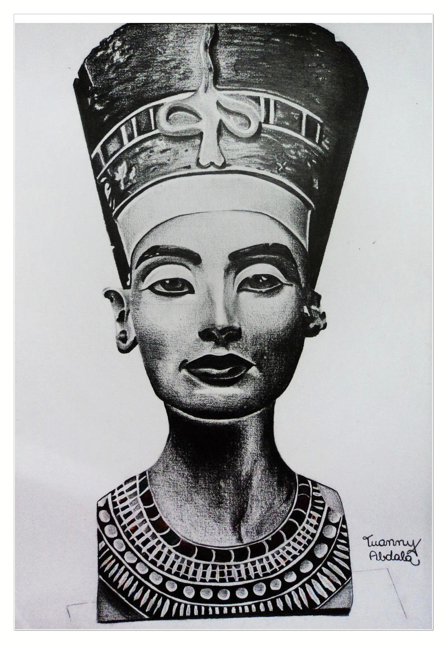 Nefertiti by annygreen on DeviantArt