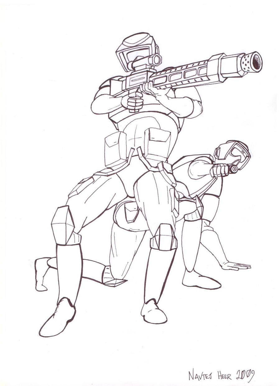 imperial scout troopers by hellbat on deviantart
