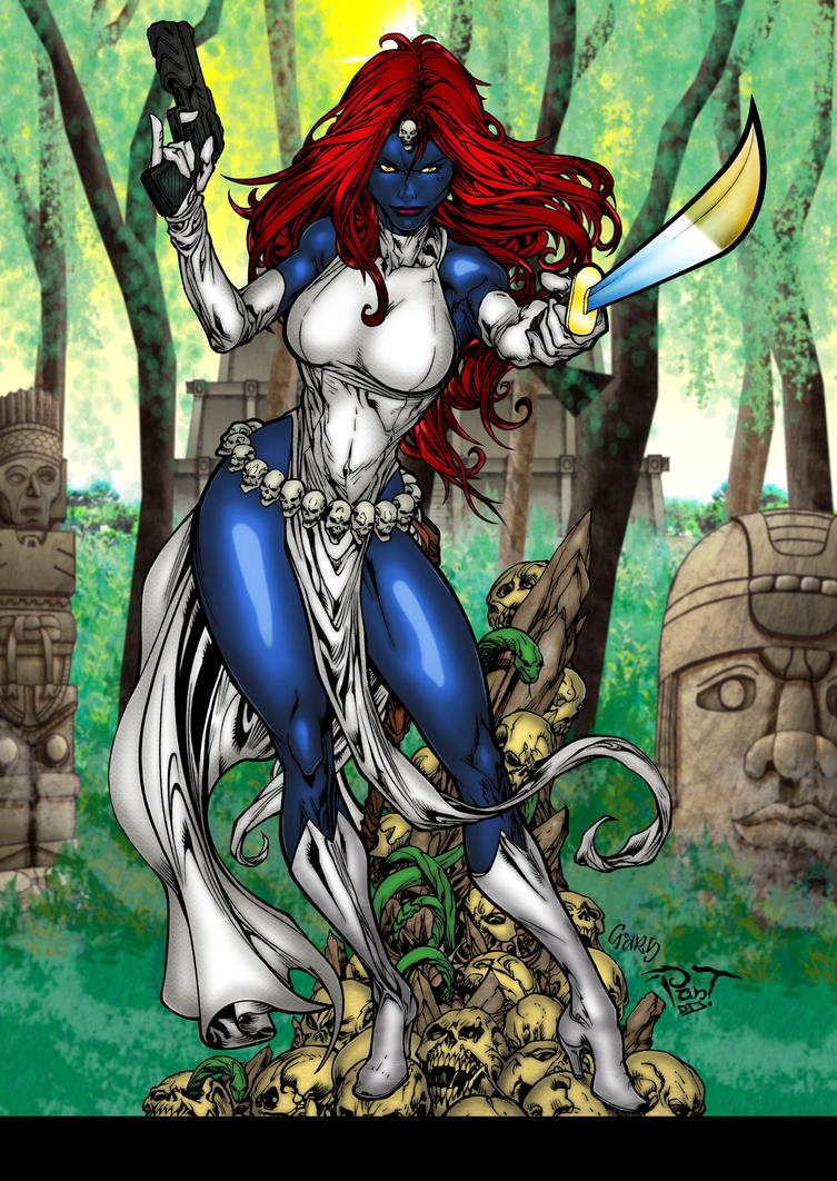 Battle Artist Mystique colours by hellbat