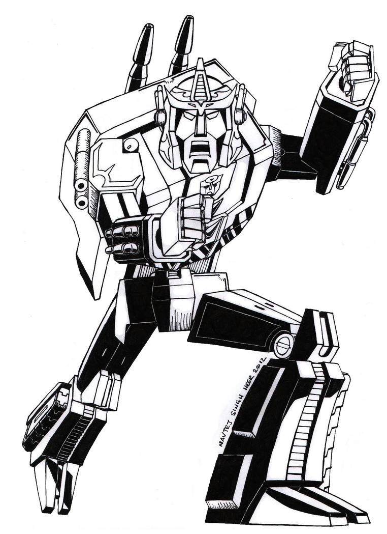 Sentinel prime by hellbat on deviantart for Transformers sentinel prime coloring pages