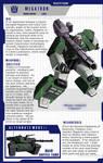 G2 Megatron profile