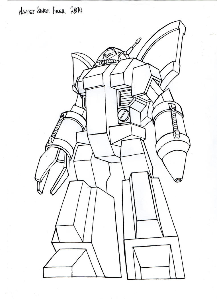 Omega Supreme Coloring Page Coloring Pages
