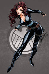 Black Widow - colours