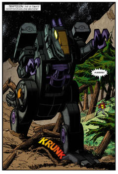Trypticon splash page colours