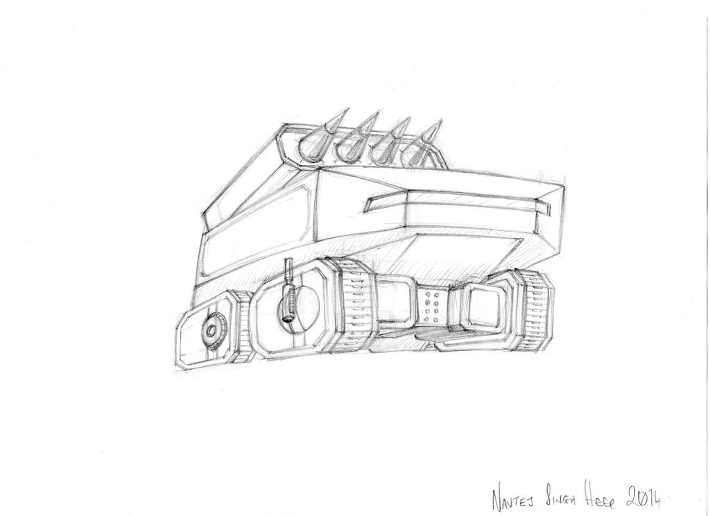 Missile sketch