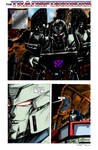 Ultimate Battle page 1 colours