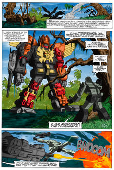 Transformers 25 page 19 recolour