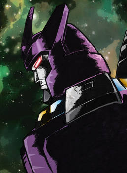 Colours on Black Ops Galvatron by Optimus8404