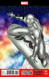 Silver Surfer cover