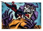 Colours on Baskerville's Spiderman V Bludgeon
