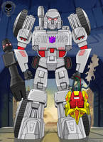Pre Earth Megatron - colours by hellbat
