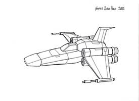 Spacefighter by hellbat