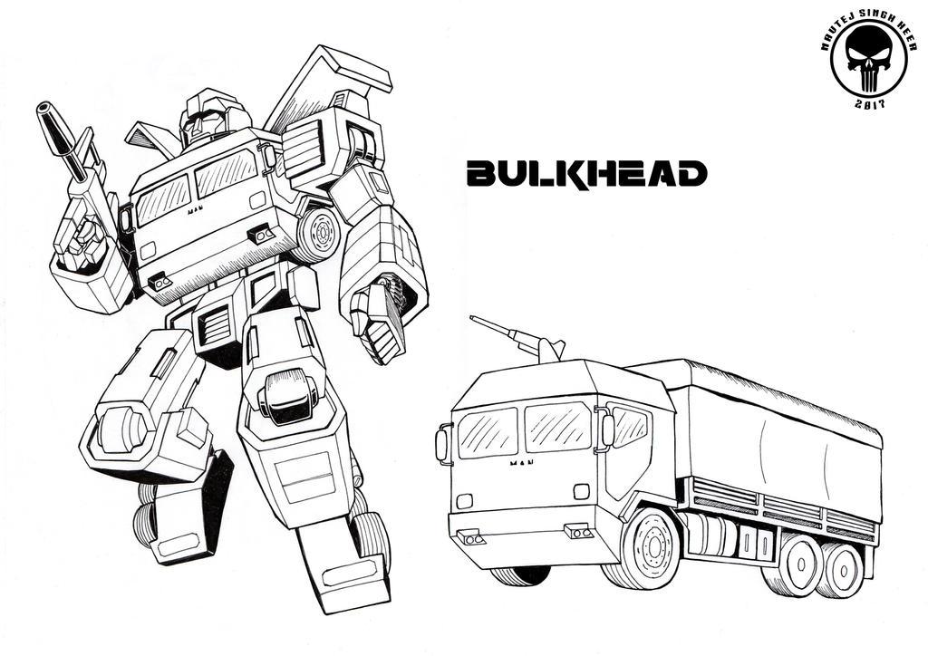G1 style Bulkhead by hellbat