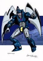 Colours on Lee Sullivan's Scourge by hellbat